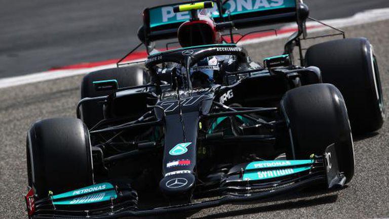 Ботас прати Мерцедес на върха след втория ден от предсезонните тестове във Формула 1