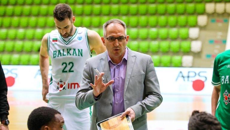 Треньорът на Балкан даде обяснение за тежкото поражение