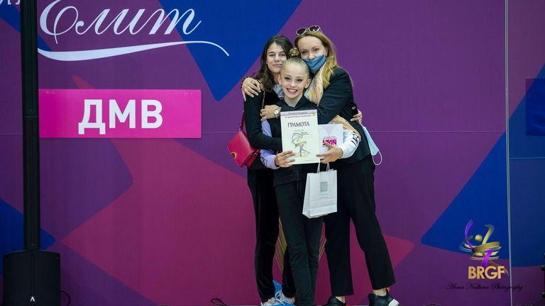 Ева Емилова спечели титлата в многобоя на ДП по художествена гимнастика