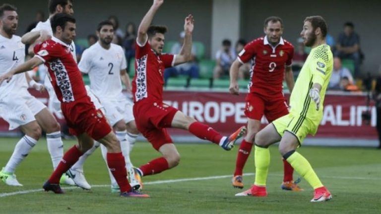 Молдова профука два гола аванс и за малко да загуби (видео)