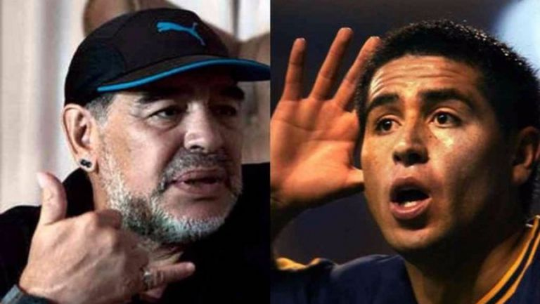 Рикелме: Видя ли Марадона по телевизията, сменям канала
