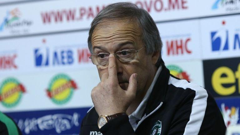 Дерменджиев: Мачът бе твърд за контрола, но Олимпиакос играе така