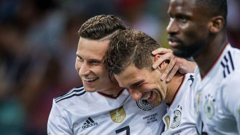 Младият тим на Германия ще спори за титлата