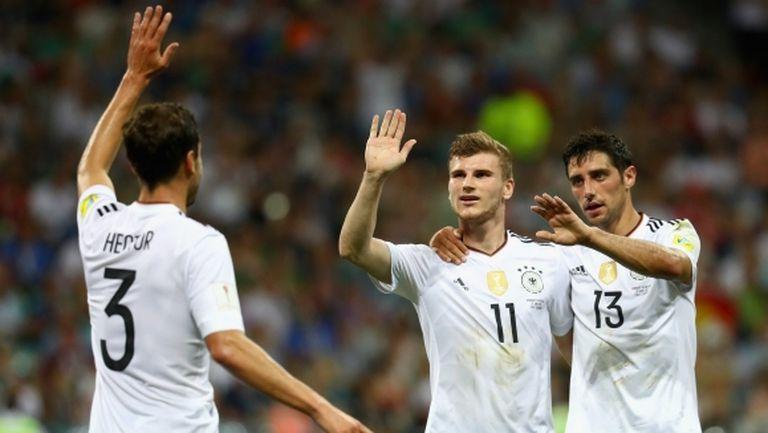 Браво на съседите: дадоха финала Германия - Чили на сърбин