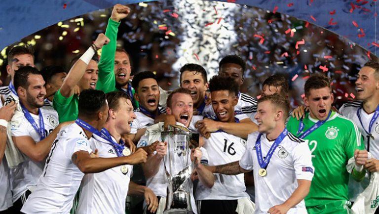 Брилянтен гол донесе европейската титла на Германия! (видео)