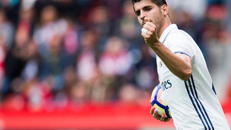 Мората е обиден на Реал Мадрид