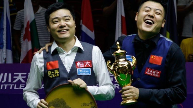 Дин и Лян донесоха Световната купа на Китай