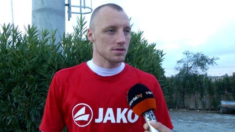 Иван Иванов приключи с Арсенал (Тула)