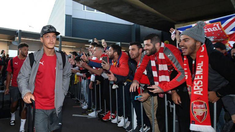 Йозил успокои всички в Арсенал