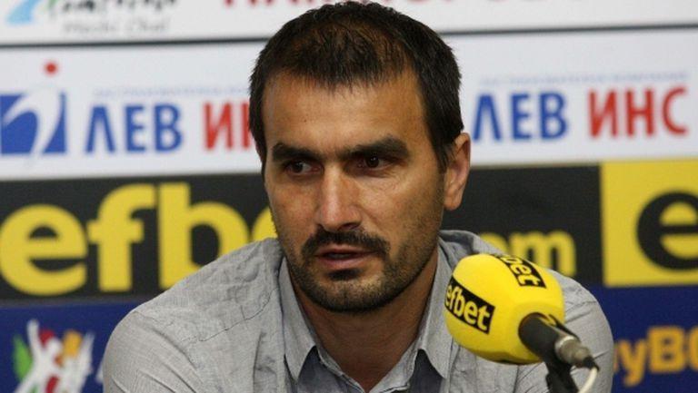 Кристиян Добрев: Целта ни е да запазим мястото в Първа лига