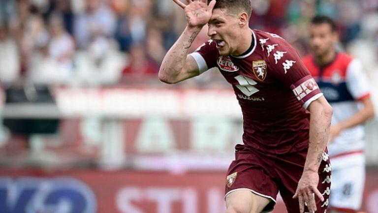 Андреа Белоти е следващата трансферна цел на Милан