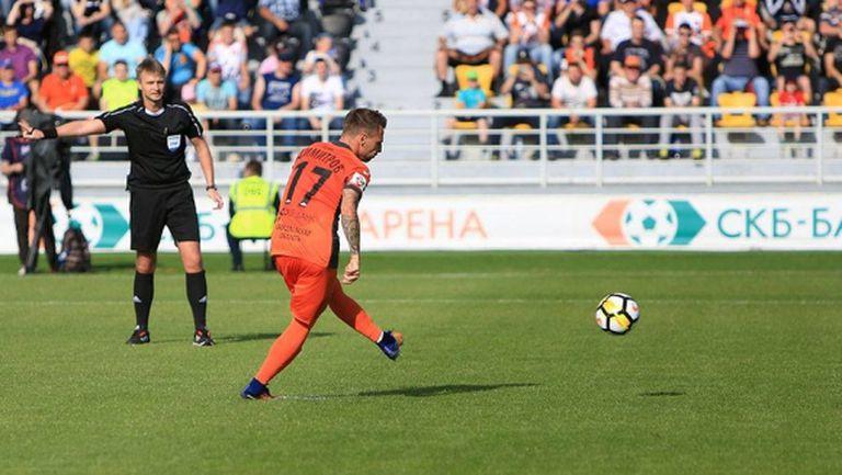 Българин реализира първия гол за сезона в Русия (видео)
