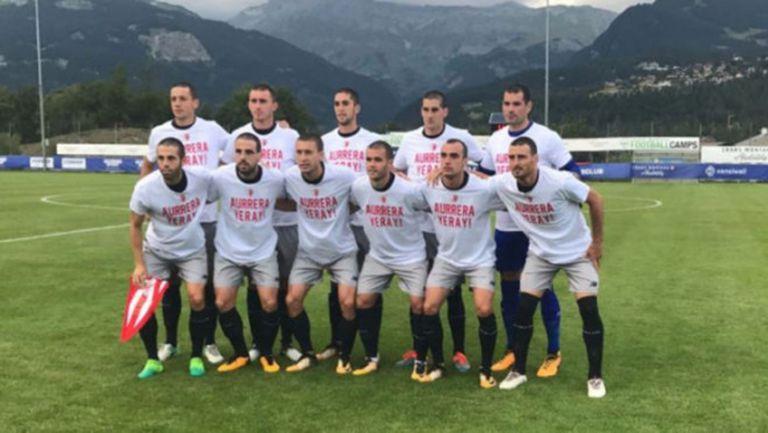 Атлетик Билбао с първа победа в Швейцария