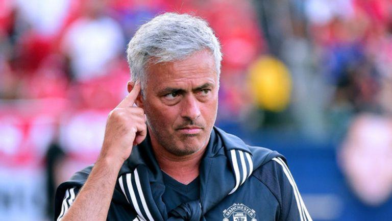 """Моуриньо: Кристиано Роналдо в Манчестър Юнайтед е """"мисия невъзможна"""""""