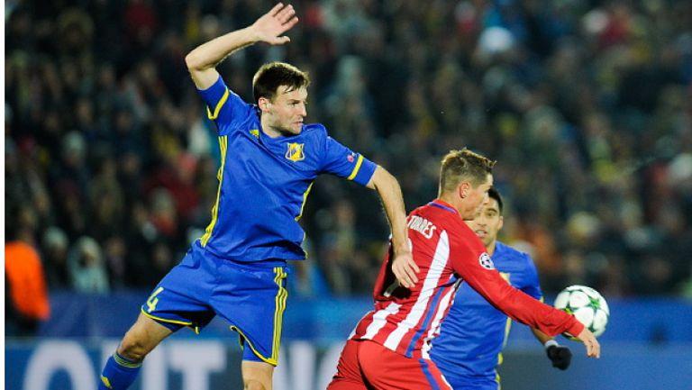 Ростов - Атлетико (Мадрид) 0:1