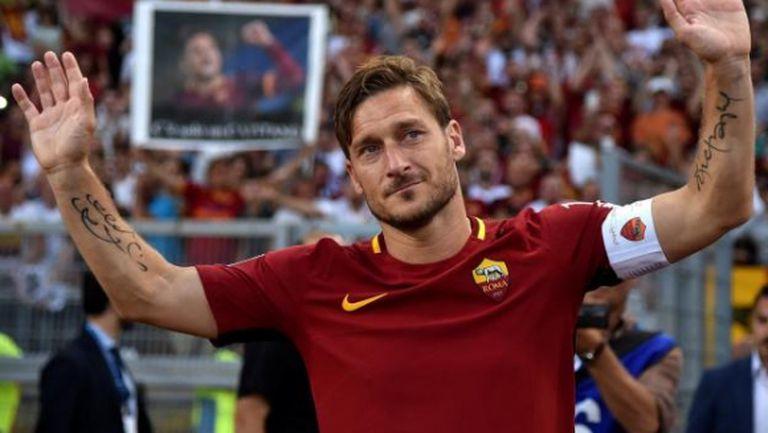Тоти прекрати окончателно кариерата си, става шеф в Рома
