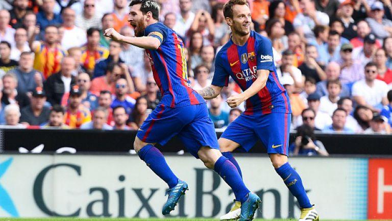 Валенсия - Барселона 2:3
