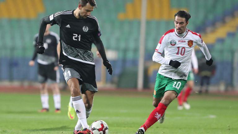 България - Беларус 1:0