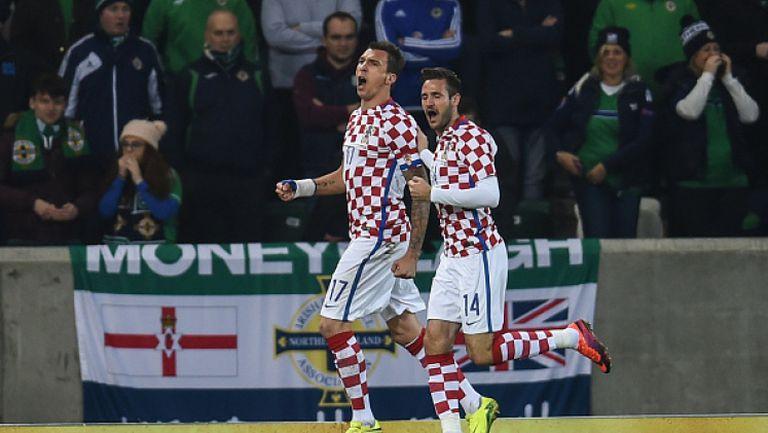 Северна Ирландия - Хърватия 0:3
