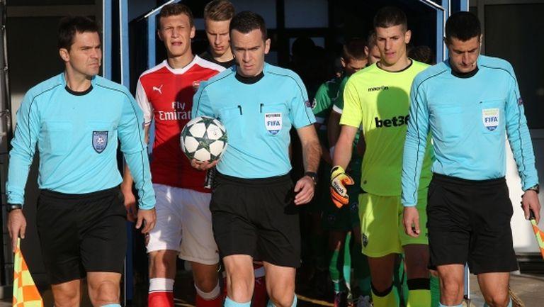 УЕФА прати Хараламбос на Лудогорец