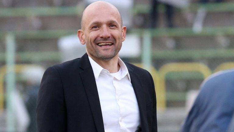 Радуканов: Футболистите имат желание и слушат - биехме Берое, за да ритат топката