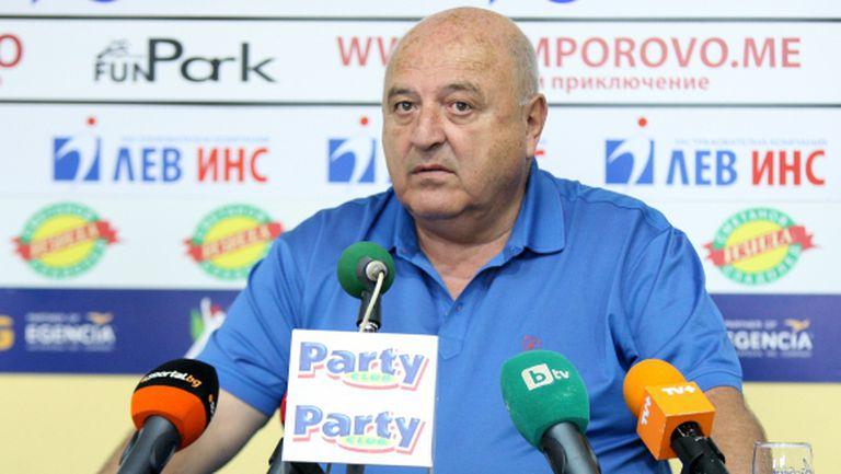 Венци Стефанов: За състоянието на ЦСКА са виновни треньорите и ръководителите