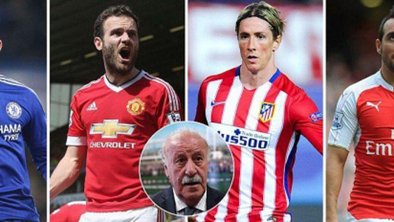 Звездите, които няма да играят за Испания на Евро 2016
