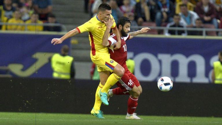 Звездите на Лудогорец с гол и автогол при разгромна победа на Румъния (видео)