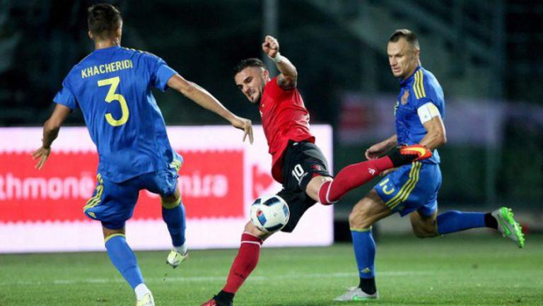Украйна демонстрира суперформа преди Евро 2016 (видео)