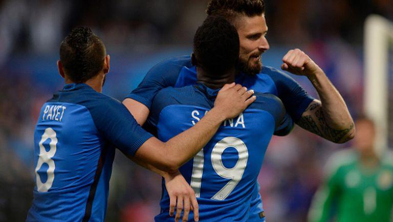 Франция завърши подготовката си с класика (видео)