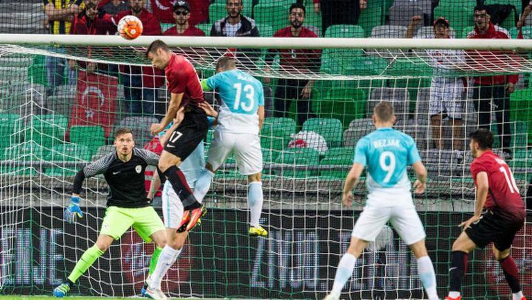 Безяк и Новакович не помогнаха на Словения срещу Турция (видео)
