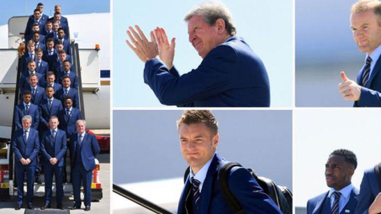 Англичаните пристигнаха във Франция, Варди не обяви решението си