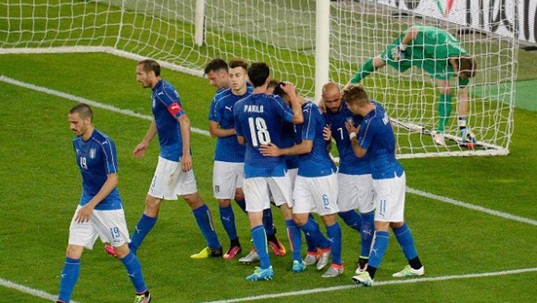 Рутинна победа за Италия в последната контрола преди Евро 2016 (видео)
