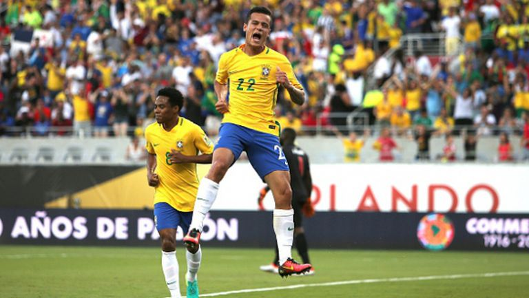 Филипе Коутиньо даде тон за бразилска самба срещу Хаити