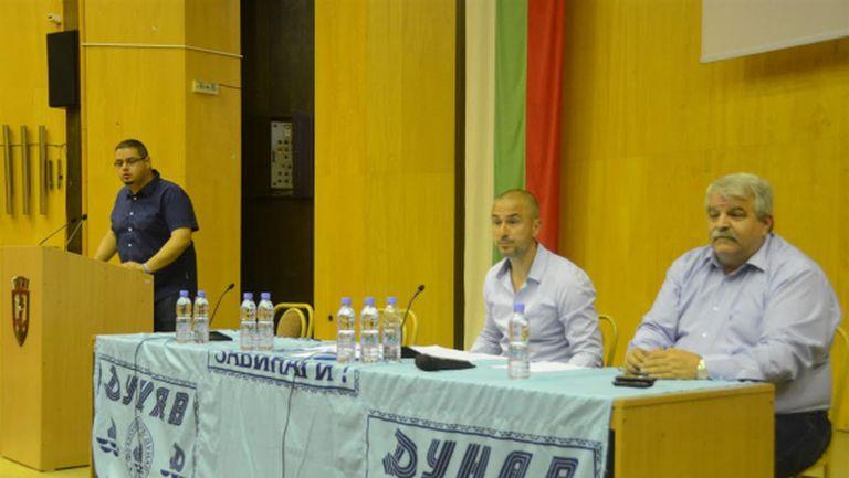 Симеон Симеонов остава председател на Управителния съвет на Дунав
