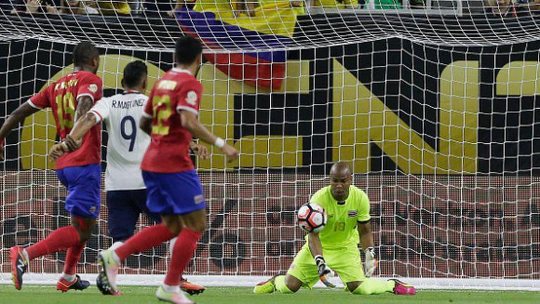 Коста Рика надви Колумбия след пет гола (видео)
