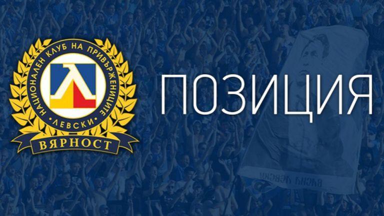 НКП на Левски: Няма да подаваме оставка