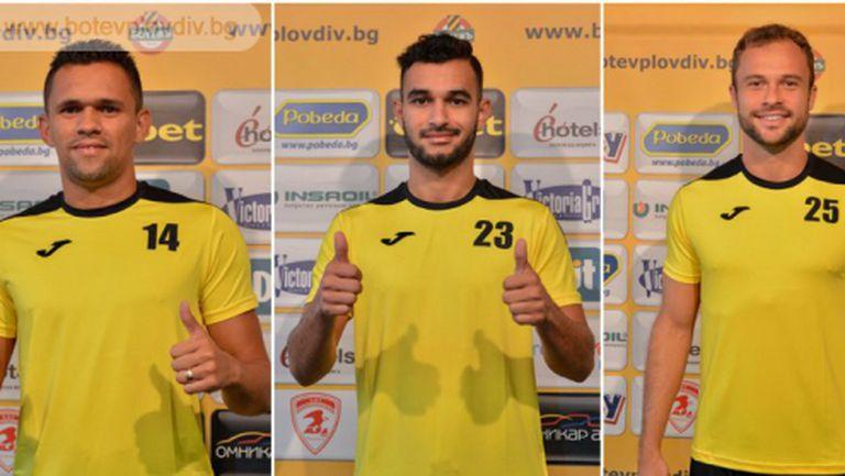 Ботев (Пловдив) подписа с трима бразилци