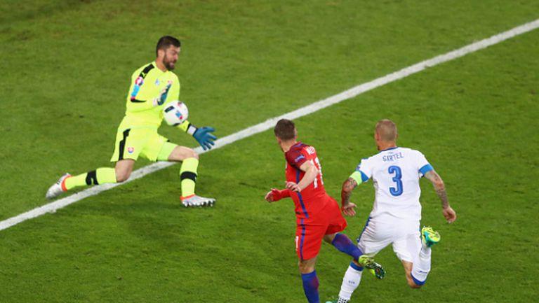 Англия изпусна Словакия и първото място в групата, възможен е сблъсък с Португалия (видео)