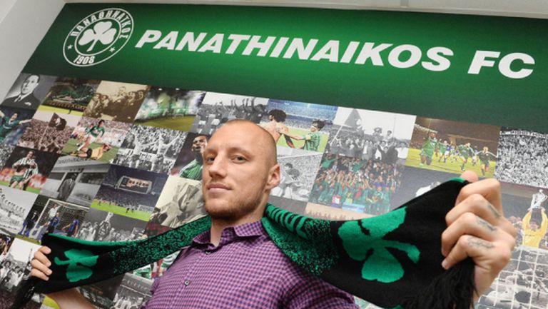 Иван Иванов вече е играч на Панатинайкос