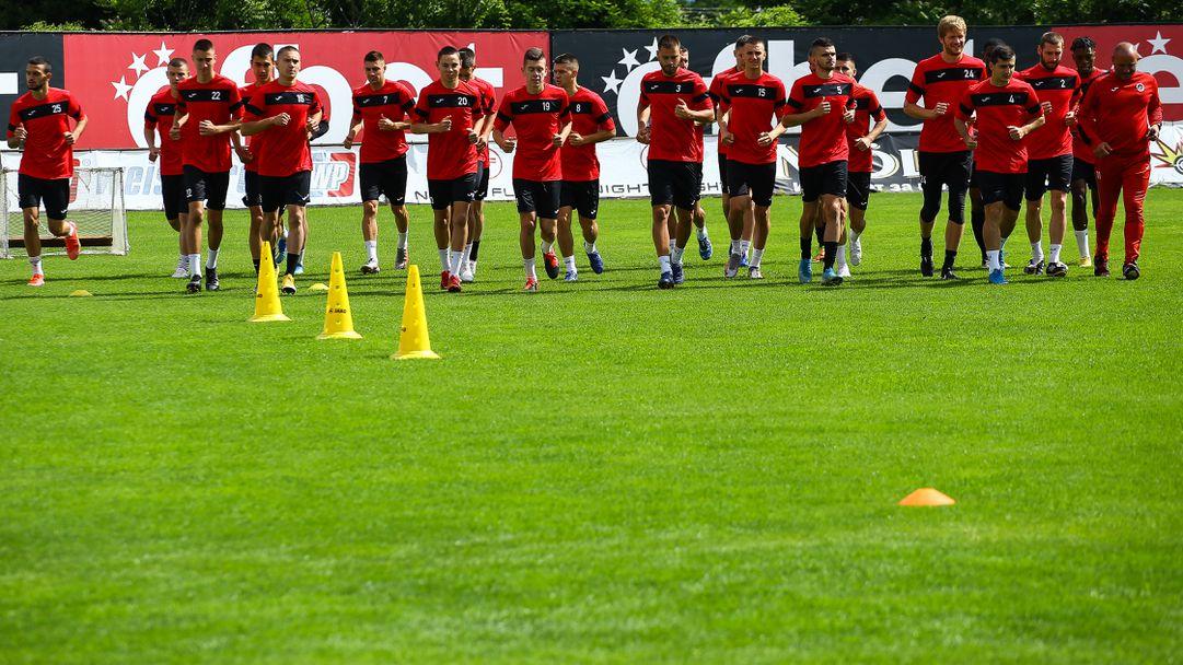 Локомотив (София) с първа тренировка преди новия сезон