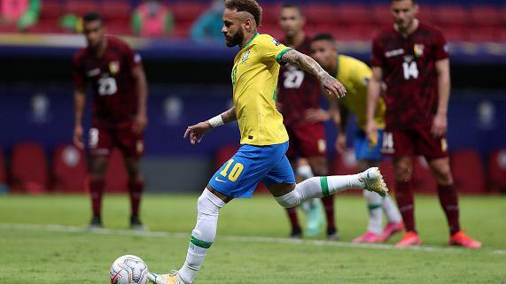Бразилия започна ударно Копа Америка