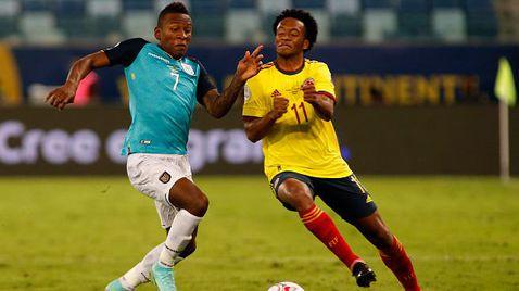 Колумбия излъга Еквадор с 1:0, Кайседо се появи като резерва