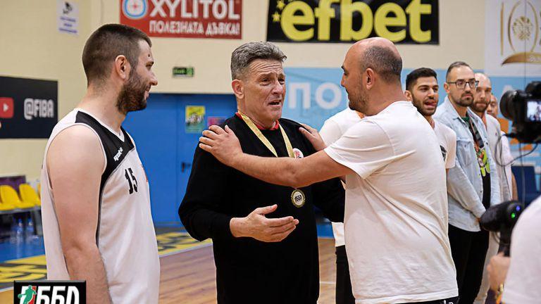 Антон Диков: Благодаря на Георги Младенов, че повярва в нас