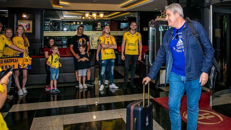 Камило Плачи пристигна в Пазарджик