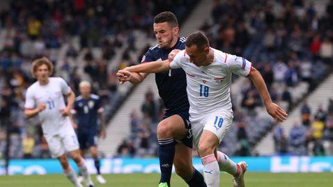 Два красиви гола на Патрик Шик дадоха победен старт за Чехия на Евро 2020