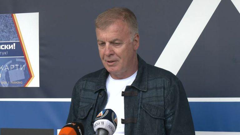 Наско Сираков: Станимир Стоилов е готов да се завърне, ако има ясен хоризонт и условия за работа