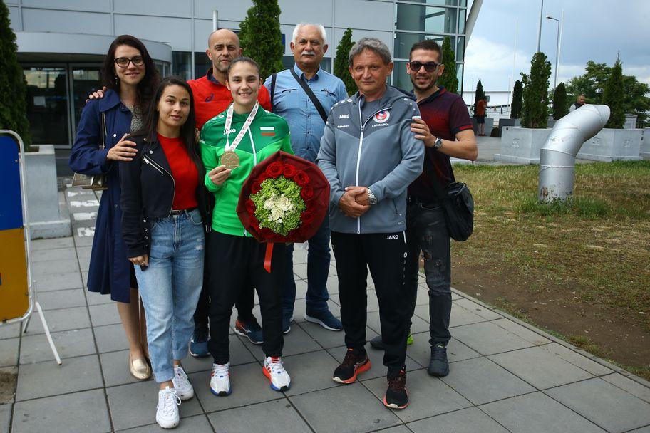 Ивет Горанова се прибра след спечелената олимпийска квота в Париж