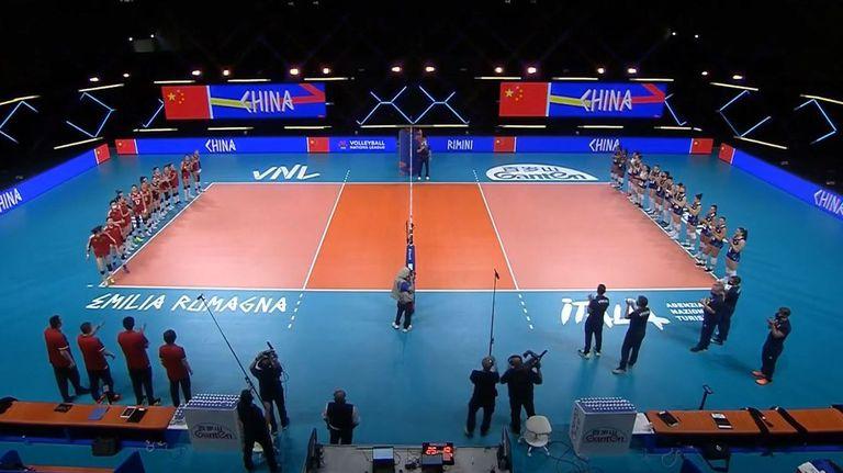 Лига на нациите (жени): Китай - Италия 3:0