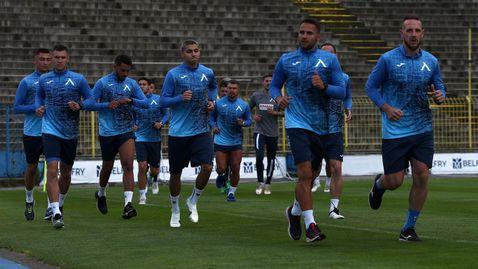 Левски стартира подготовка с 12 футболисти